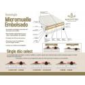 Colchón de Micromuelles Ensacados Abu Dhabi de Magíster
