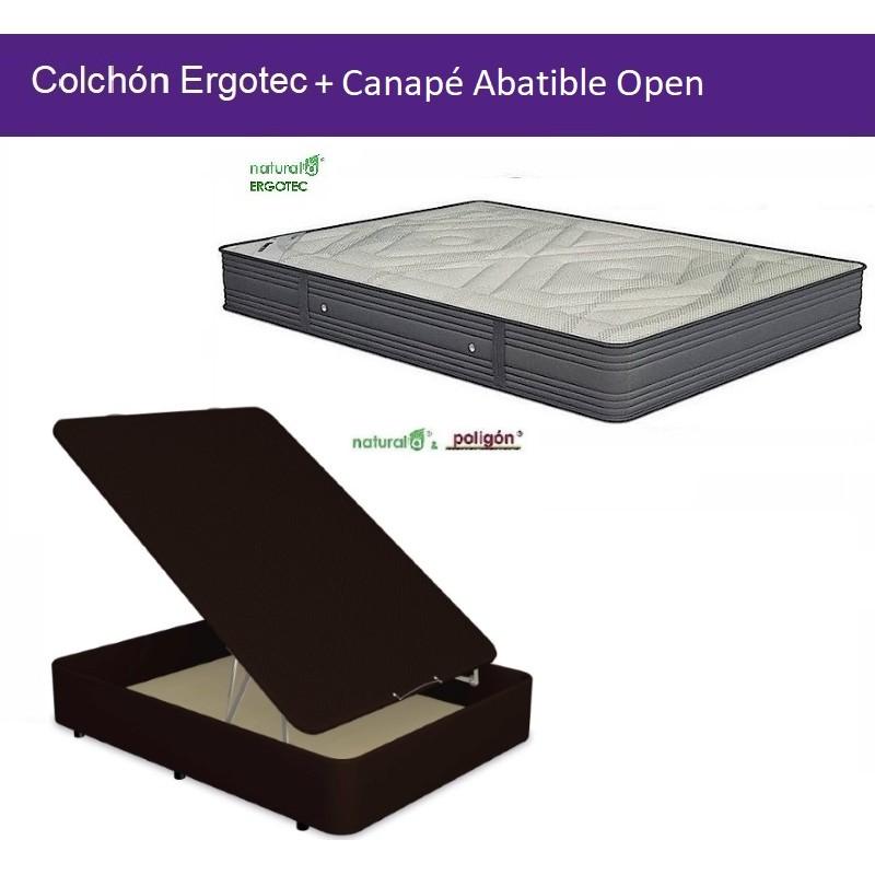 Pack Colchón Ergotec + Canapé Abatible Open