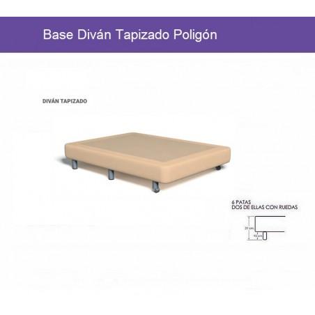 Base Diván Tapizado Poligón