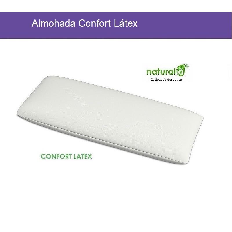 Almohada Confort Látex Naturalia