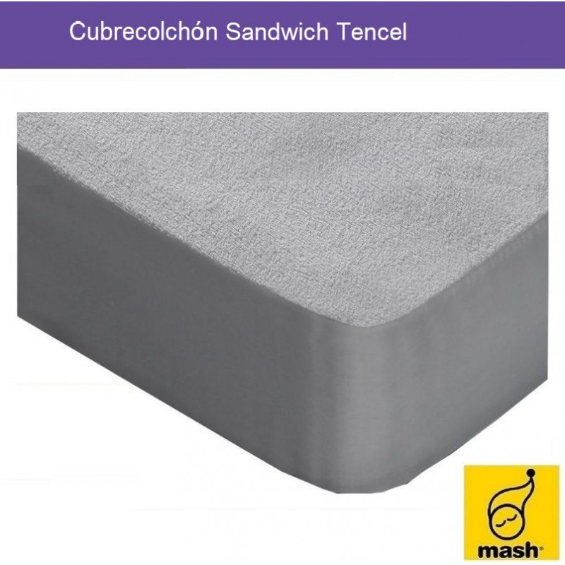 Cubrecolchón Sandwich Tencel Mash