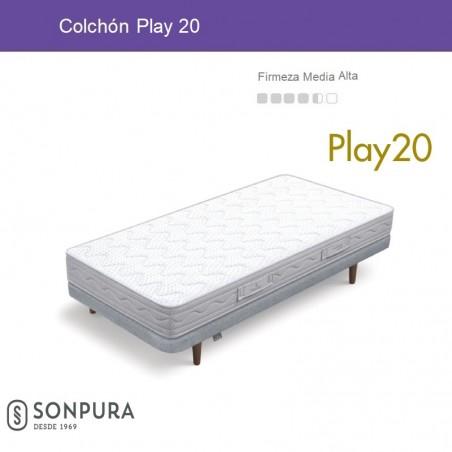 Colchón Play20 Sonpura
