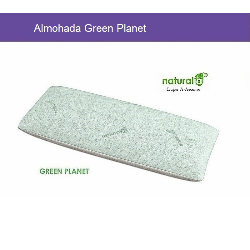 Almohada Green Planet Junior Naturalia