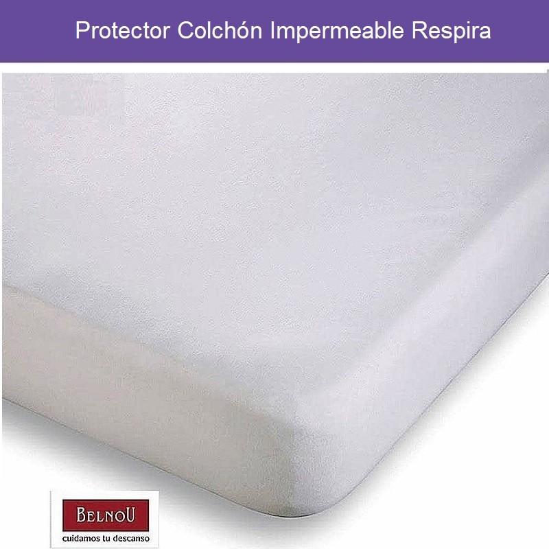 Protector Colchón Impermeable Respira Belnou