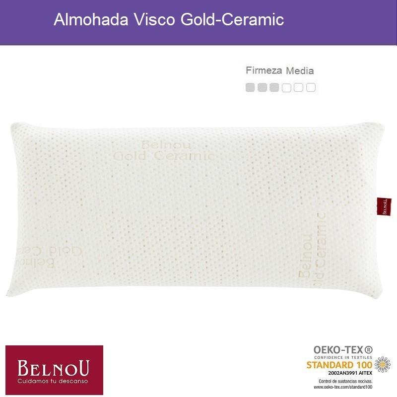 Almohada Visco Gold-Ceramic Belnou