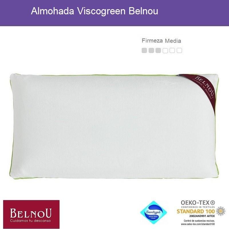 Almohada Viscogreen Belnou